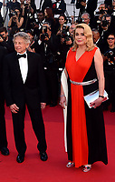 www.acepixs.com<br /> <br /> May 23 2017, Cannes<br /> <br /> Director Roman Polanski (L) and actor Catherine Deneuve arriving at the 70th Anniversary of the annual Cannes Film Festival at Palais des Festivals on May 23, 2017 in Cannes, France.<br /> <br /> By Line: Famous/ACE Pictures<br /> <br /> <br /> ACE Pictures Inc<br /> Tel: 6467670430<br /> Email: info@acepixs.com<br /> www.acepixs.com