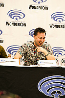 Jackson Lanzing  at Wondercon in Anaheim Ca. March 31, 2019