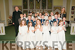 Ballydonoghue 1st Communions : M/s Lisa Walsh's class from Liselton NS who received their 1st communion from Fr. John Lawlor at Ballydonoghue Church on Saturday last.