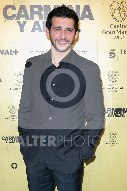 "Spanish actor Fran Perea attend the Premiere of the movie ""Carmina y Amen"" at the Callao Cinema in Madrid, Spain. April 28, 2014. (ALTERPHOTOS/Carlos Dafonte)"