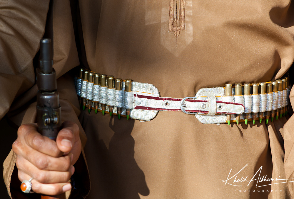 Omani Man With Rifle , Oman