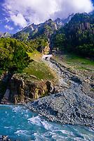Sonamarg, Kashmir, Jammu and Kashmir State; India.