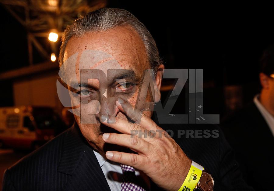 SAO PAULO, SP, 02 AGOSTO 2012 - ELEICOES 2012 - DEBATE BAND - PREFEITURA DE SP - Sergio Gerra (PSDB) durante debate da Tv Bandeirantes de Sao Paulo, nesta quinta-feira, na regiao sul da capital paulista. (FOTO: VANESSA CARVALHO / BRAZIL PHOTO PRESS).