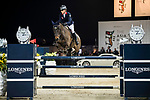 Clarissa Lyra of Hong Kong riding Catokia competes in the Masters One DBS during the Longines Masters of Hong Kong at AsiaWorld-Expo on 11 February 2018, in Hong Kong, Hong Kong. Photo by Ian Walton / Power Sport Images