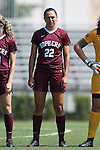 04 September 2016: Minnesota's Tori Burnett. The Duke University Blue Devils hosted the University of Minnesota Golden Gophers at Koskinen Stadium in Durham, North Carolina in a 2016 NCAA Division I Women's Soccer match. Duke won the game 1-0.