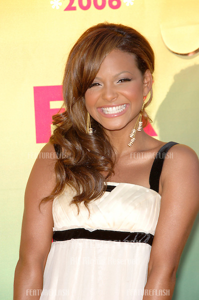 Singer CHRISTINA MILIAN at the 2006 Teen Choice Awards at Universal City, Hollywood.20AUG2006  Los Angeles, CA.© 2006 Paul Smith / Featureflash