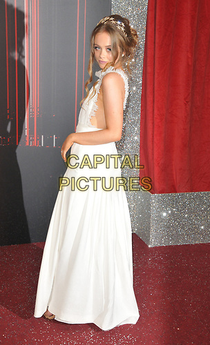Niamh Blackshaw at the British Soap Awards 2019, The Lowry Theatre, Pier 8, The Quays, Media City, Salford, Manchester, England, UK, on Saturday 01st June 2019.<br /> CAP/CAN<br /> ©CAN/Capital Pictures