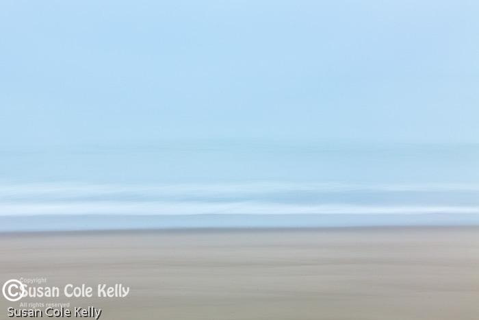 A foggy morning at Head of the Meadow Beach, Cape Cod National Seashore, Wellfleet, Massachusetts, USA