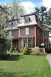 Victorian Home in Lewisburg, PA with gardens and landscaping.