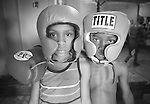 KIDS 02 B&W - boxing gym