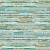 Random Stalks, a hand-cut mosaic shown in Aquamarine jewel glass.