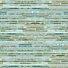 Random Stalks, a hand-cut mosaic shown in Aquamarine jewel glass.