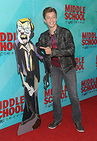NEW YORK, NY - OCTOBER 01: Jacob Hopkins attends the New York Screening of Middle School: The Worst Years of My Life at Regal E-Walk on October 1, 2016 in New York City. Photo Credit: John Palmer/MediaPunch
