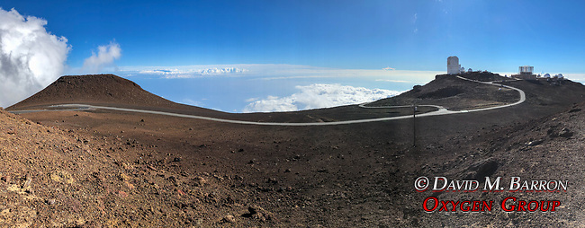 Telescope Observatories At Haleakala Summit