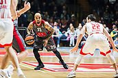 9th February 2018, Aleksandar Nikolic Hall, Belgrade, Serbia; Euroleague Basketball, Crvenz Zvezda mts Belgrade versus AX Armani Exchange Olimpia Milan; Guard Jordan Theodore of AX Armani Exchange Olimpia Milan in action