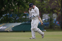 A Wilson of Brondesbury during Finchley CC vs Brondesbury CC (batting), ECB National Club Championship Cricket at Arden Field on 12th May 2019