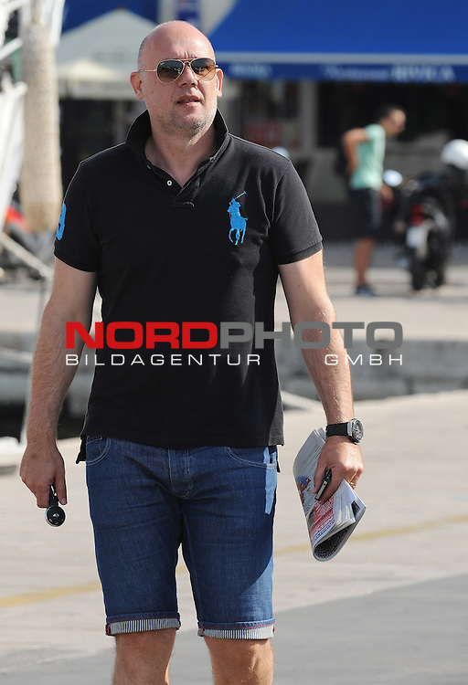 09.08.2014., Croatia, Sibenik -  The first Croatian coach in the history of the strongest leagues of the world Neven Spahija, the new assistant coach of the NBA's Atlanta Hawksa smiling posed for photographers<br /> <br /> Foto ©  nph / PIXSELL / Hrvoje JelavicL