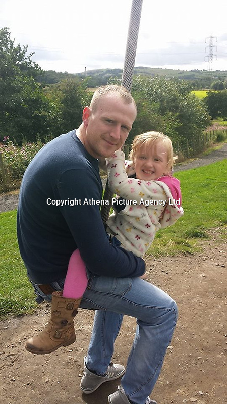 Pictured: Darren Neilson (L), image taken from open social media page.<br /> Re: An inquiry into the deaths of two soldiers and the serious injury of two others at a Ministry of Defence base in Pembrokeshire is continuing.<br /> The Royal Tank Regiment soldiers died after the incident at Castlemartin Range on Wednesday.<br /> They have been named by their commanding officer as Corporals Matthew Hatfield and Darren Neilson.<br /> The MoD, Dyfed-Powys Police and Health and Safety Executive are investigating.<br /> The incident is understood to have involved a tank shell exploding within a Challenger 2 battle tank. The MoD has suspended tank live firing exercises by British military as a precaution.<br /> The second death, at University Hospital of Wales, Cardiff, was announced on Thursday night by Minister for Defence, People and Veterans, Tobias Ellwood.<br /> It followed an earlier announcement of the first death at Morriston Hospital on Thursday morning.