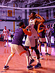 Stony Brook defeats UAlbany  69-60 in the America East Conference tournament quaterfinals at the  SEFCU Arena, Mar. 3, 2018.  Travis Charles (#30)