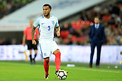 5th October 2017, Wembley Stadium, London, England; FIFA World Cup Qualification, England versus Slovenia; Ryan Bertrand of England