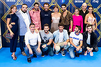 "Full cast of ´El Continental' attends to presentation of ""El Continental"" during FestVal in Vitoria, Spain. September 03, 2018. (ALTERPHOTOS/Borja B.Hojas) /NortePhoto.com NORTEPHOTOMEXICO"