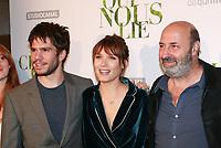 FRANCOIS CIVIL, ANA GIRARDOT & CEDRIC KLAPISCH - Avant-premiere du film CE QUI NOUS LIE au UGC Champs-Elysees