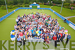 Setting a record for the greatest number of Harnett's family members together a one time, a total of 243 were pictured here last Sunday afternoon in Abbeyfeale town park.