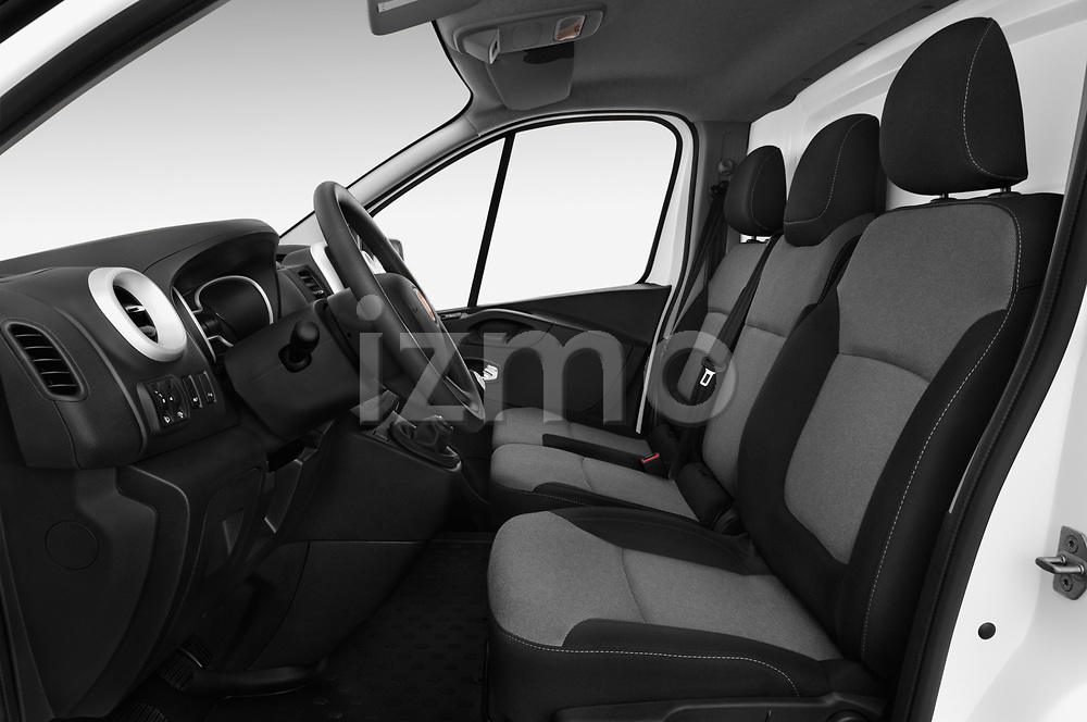 Front seat view of 2017 Fiat Talento Pack 4 Door Cargo Van Front Seat  car photos
