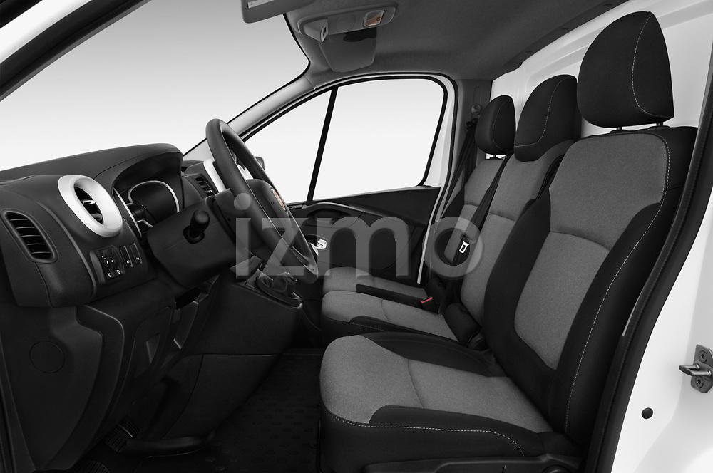 Front seat view of 2017 Fiat Talento Pack 4 Door Cargo Van Front Seat  car photos