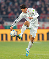 FUSSBALL   DFB POKAL   SAISON 2011/2012   VIERTELFINALE VfB Stuttgart - FC Bayern Muenchen                      08.02.2012 Mario Gomez (FC Bayern Muenchen)