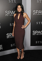 www.acepixs.com<br /> <br /> January 17 2017, LA<br /> <br /> Emmanuelle Chriqui arriving at the premiere 'The Space Between Us' at the ArcLight Hollywood on January 17, 2017 in Hollywood, California. <br /> <br /> By Line: Peter West/ACE Pictures<br /> <br /> <br /> ACE Pictures Inc<br /> Tel: 6467670430<br /> Email: info@acepixs.com<br /> www.acepixs.com