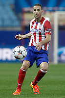 Atletico de Madrid's Mario Suarez during Champions League 2013/2014 match.March 11,2014. (ALTERPHOTOS/Acero)