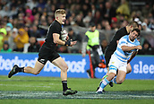 9th September 2017, Yarrow Stadium, New Plymouth. New Zealand; Supersport Rugby Championship, New Zealand versus Argentina; New Zealands Damian McKenzie