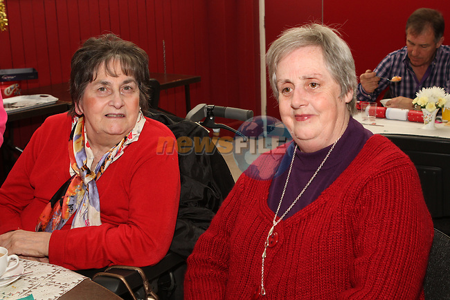 Gabrielle Briscoe and Bernadette Connor at the Ferrard Day Care Centre Christmas Party 4/1/13..Photo NEWSFILE/Jenny Matthews..(Photo credit should read Jenny Matthews/NEWSFILE)