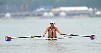 Amsterdam, NETHERLAND, USA BLW 1X, Andrew CAMPBELL Jr. 2011 FISA U23 World Rowing Championships, Thursday, 21/07/2011 [Mandatory credit:Peter Spurrier  Intersport Images].