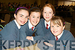 """Pictured at the Tralee Credit Union Schools Quiz Brandon hotel on Sunday were Christie O'Sullivan, Ciara Holmes, Mary Anne Brassil and Ada O""""Connor from Scoil Eoin, Tralee."""