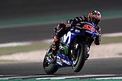 16th March 2018, Losail International Circuit, Lusail, Qatar; Qatar Motorcycle Grand Prix, Friday evening free practice; Maverick Vinales (Movistar Yamaha)