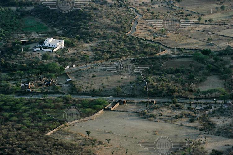 The Maharana's hunting grounds near the Monsoon Palace.