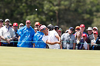 Rafa Cabrera (ESP) chips on the 7th hole during the second round of the 118th U.S. Open Championship at Shinnecock Hills Golf Club in Southampton, NY, USA. 15th June 2018.<br /> Picture: Golffile | Brian Spurlock<br /> <br /> <br /> All photo usage must carry mandatory copyright credit (&copy; Golffile | Brian Spurlock)