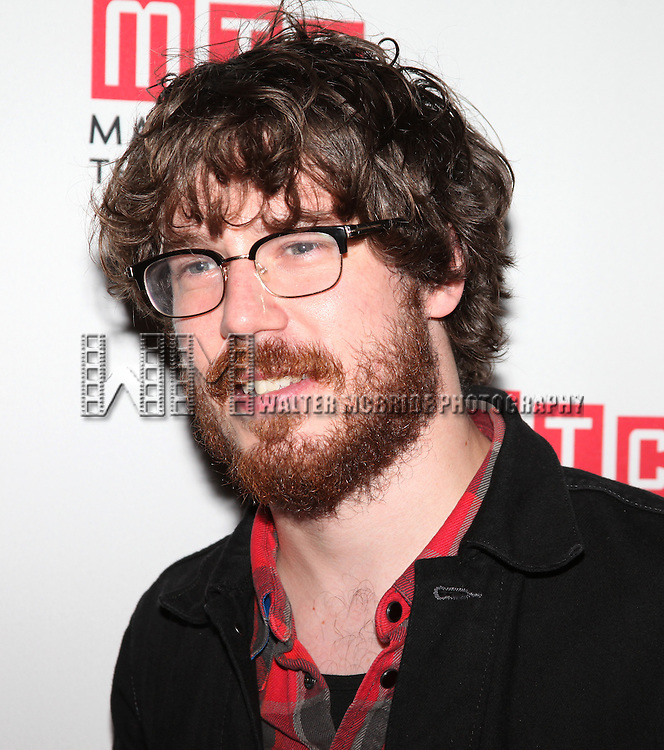 John Gallagher Jr..attending the Opening Night Party for the MTC's Production of  'We Live Here' at the Beacon Restaurant in New York City.