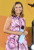 NEW YORK, NY - JULY 8: Ginger Zee on ABC's 'Good Morning America' at SummerStage at Rumsey Playfield, Central Park on July 8, 2016 in New York City. Credit: John Palmer / MediaPunch