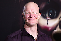 HOLLYWOOD, LOS ANGELES, CA, USA - SEPTEMBER 29: Derek Mears arrives at the Los Angeles Premiere Of New Line Cinema's 'Annabelle' held at the TCL Chinese Theatre on September 29, 2014 in Hollywood, Los Angeles, California, United States. (Photo by Xavier Collin/Celebrity Monitor)