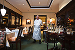 Restaurant Alt-Luxemburg. Chef de Cuisine Karl Wannemacher stands for a portrait.
