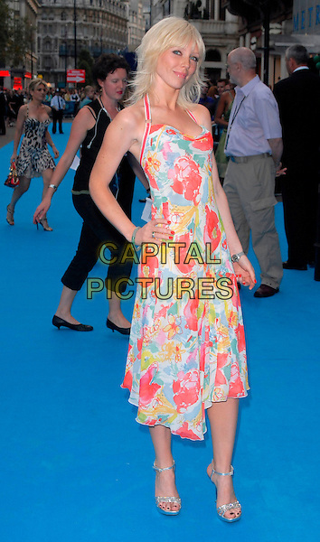 "GUEST.""Lady In The Water"" - UK film Premiere, Vue West End, London, UK..August 8th, 2006.Ref: CAN.full length white pink floral print dress.www.capitalpictures.com.sales@capitalpictures.com.©Can Nguyen/Capital Pictures"