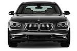Straight front view of a 2013 BMW 7 Series 4dr Rear-Wheel Drive Sedan 750Li