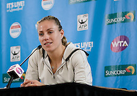 ANGELIQUE KERBER of GERMANY (GER) <br /> <br /> 2017 BRISBANE INTERNATIONAL, PAT RAFTER ARENA, BRISBANE TENNIS CENTRE, BRISBANE, QUEENSLAND, AUSTRALIA<br /> <br /> &copy; TENNIS PHOTO NETWORK