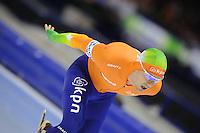 SCHAATSEN: HEERENVEEN: Thialf, Essent ISU World Cup, 03-03-2012, 10k Men, Douwe de Vries (NED), ©foto: Martin de Jong