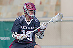 Manhattan Beach, CA 02-11-17 - Jack Margolis (Santa Clara #19) in action during the MCLA non-conference game between LMU (SLC) and Santa Clara (WCLL).  Santa Clara defeated LMU 18-3.