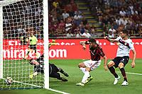 gol Patrick Cutrone goal <br /> Milano 27-08-2017 Stadio Giuseppe Meazza in San Siro Calcio Serie A<br /> 2017/2018 Milan - Cagliari Foto Imagesport/Insidefoto