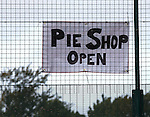 The Annan Pie Shop is open. So there!   We went and had fish n chips instead....